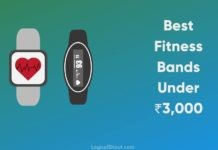 Best Smart Fitness Band Under Rs.3000 in India