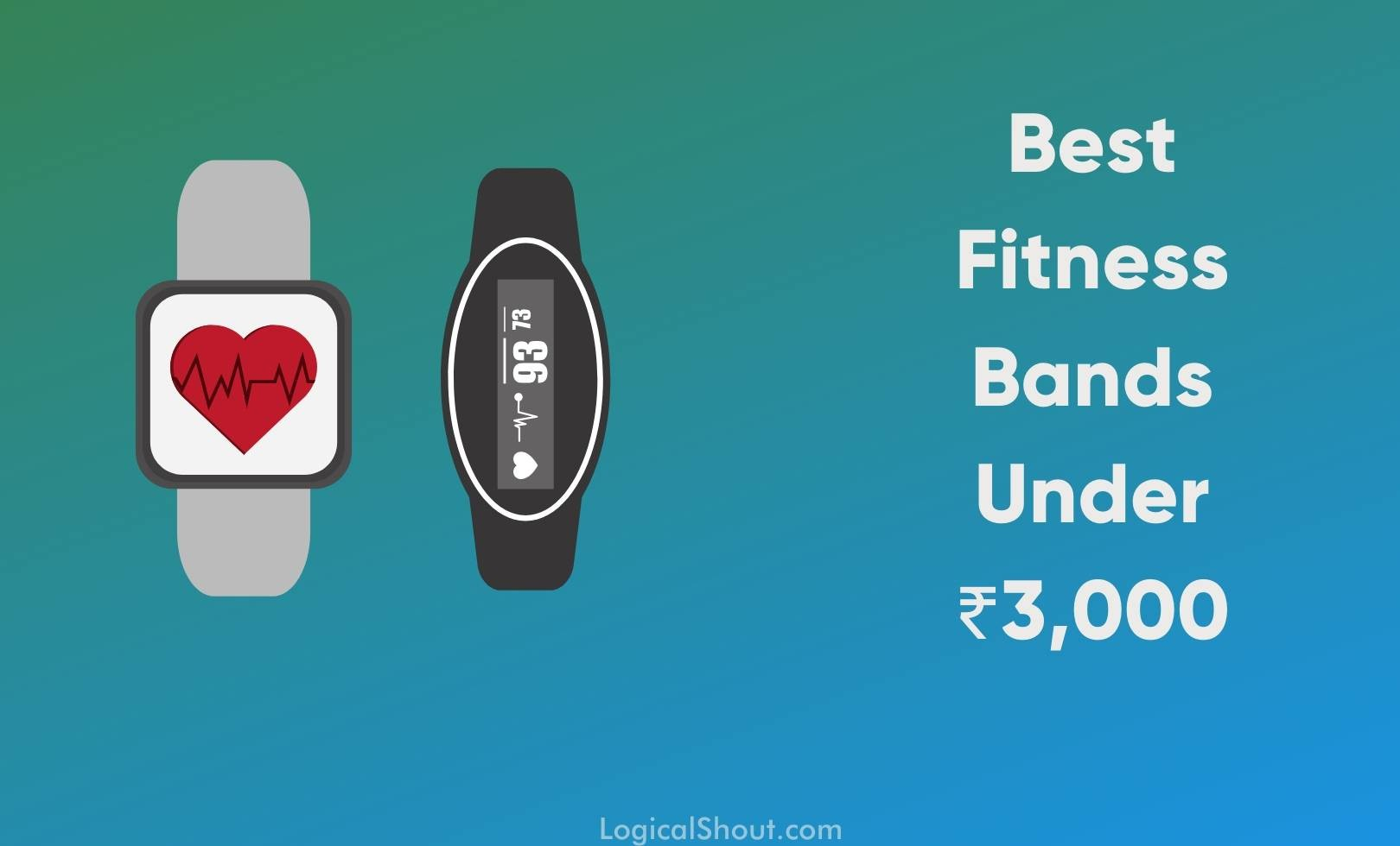 best fitness bands under Rs.3000 in India