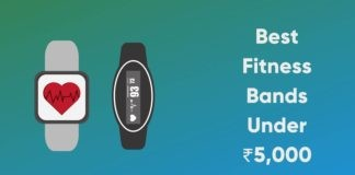 Best Fitness Bands Under 5000