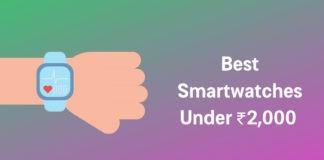 Best Smartwatches Under 2000