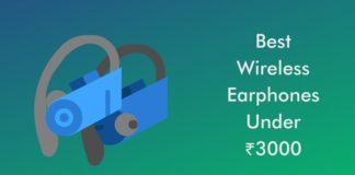 Best Wireless Earphones Under 3000