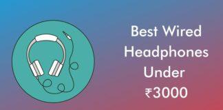 Best Wired Headphones Under 3000