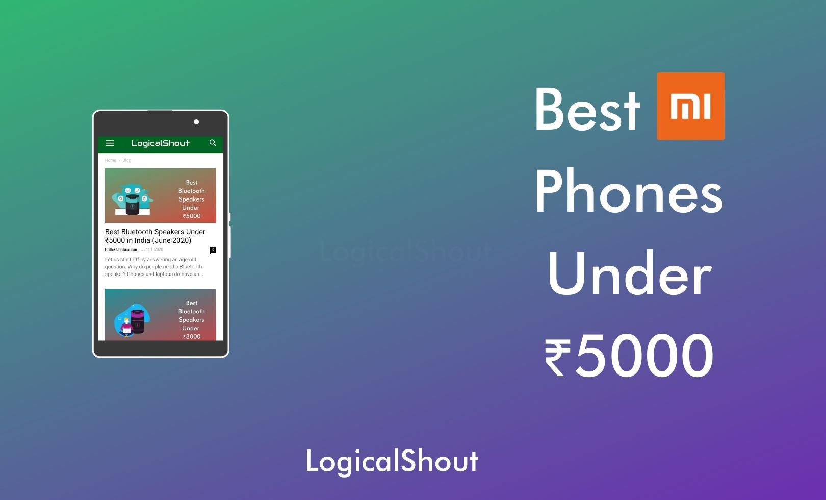 Best Mi Phones Under 5000