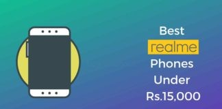 Realme Phones Under Rs.15000