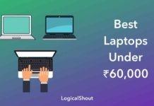 Best Laptops Under Rs.60,000
