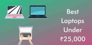 Best Laptops Under Rs.25,000