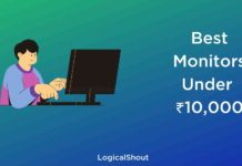 Best Monitors Under 10000